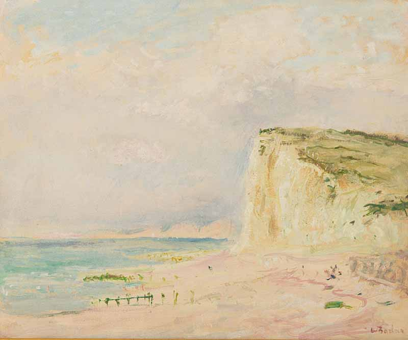 Falaises, Normande by ANDRÉ BARBIER 1883 – 1970
